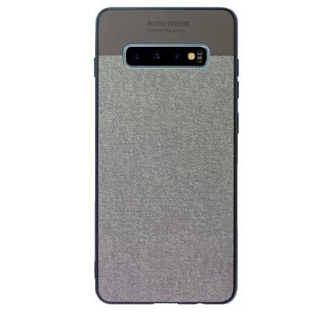 Husa Spate Pentru Samsung Galaxy S10 Plus Gri CTK