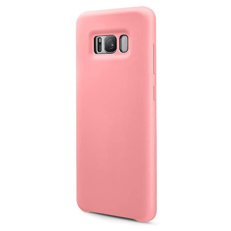 Husa Spate pentru Samsung Galaxy S8 Plus Roz Fun