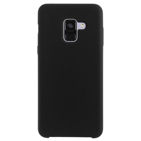 Husa spate Samsung Galaxy A8 2018 Negru Fun