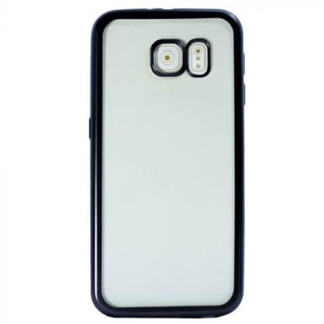 Husa spate Samsung Galaxy A8 2018, Rama Neagra