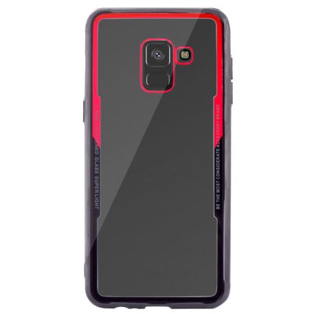 Husa spate Samsung Galaxy A8 2018, Rama Rosie