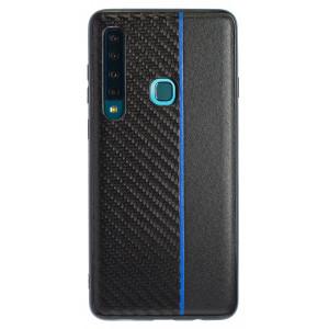 Husa Spate Samsung Galaxy A9 2018 Blue Stripe