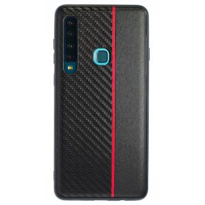 Husa Spate Samsung Galaxy A9 2018 Red Stripe