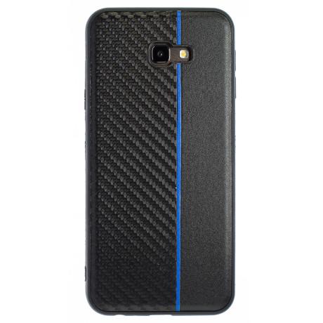 Husa Spate Samsung Galaxy J4 Plus Blue Stripe