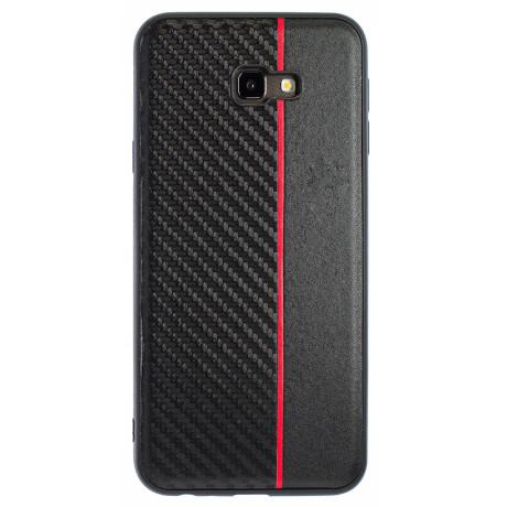 Husa Spate Samsung Galaxy J4 Plus Red Stripe