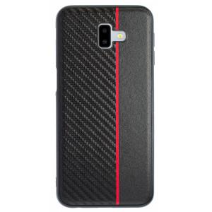 Husa Spate Samsung Galaxy J6 Plus Red Stripe