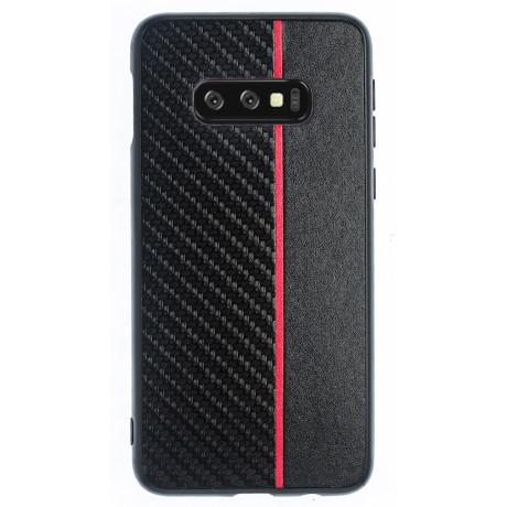 Husa Spate Samsung Galaxy S10 E, Red Stripe