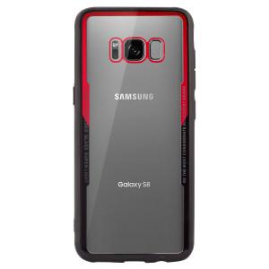 Husa spate Samsung Galaxy S8, Rama Rosie