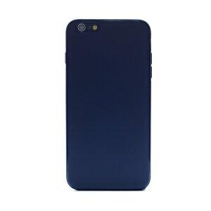 Husa spate silicon iPhone 6 Plus iShield Albastru mat