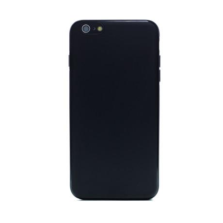 Husa spate silicon iPhone 6 Plus iShield Negru mat