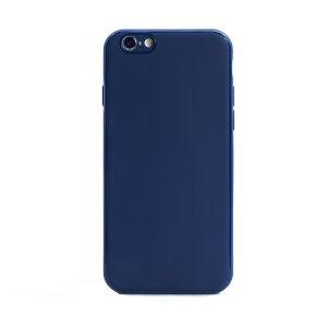 Husa spate silicon iPhone 6/6S iShield Albastru mat