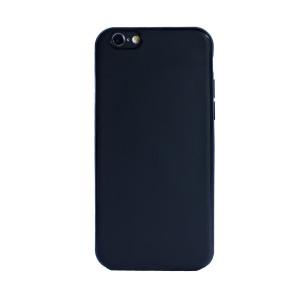 Husa spate silicon iPhone 6/6S iShield Negru mat