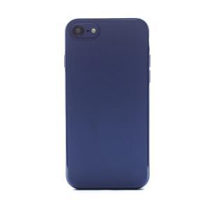 Husa spate silicon iPhone 7/8/SE 2 iShield Albastru mat