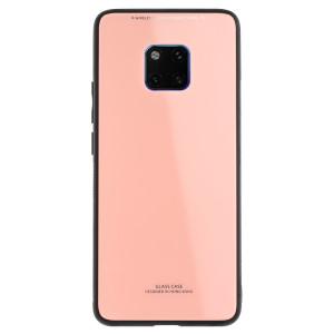Husa spate sticla Huawei Mate 20 Pro Contakt Roz