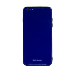 Husa spate sticla iPhone 6 Plus Albastru