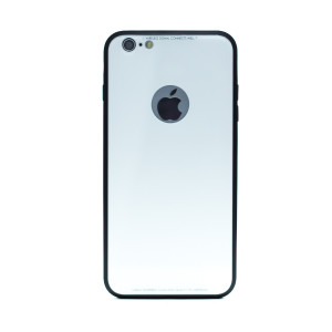 Husa spate sticla iPhone 6 Plus, iShield Alba