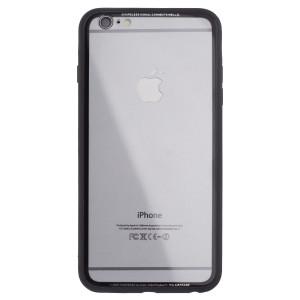 Husa spate sticla iPhone 6 Plus iShield Rama Gri