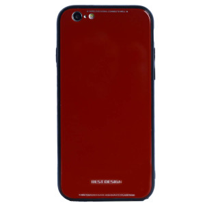 Husa spate sticla iPhone 6/6S, Contakt Rosie