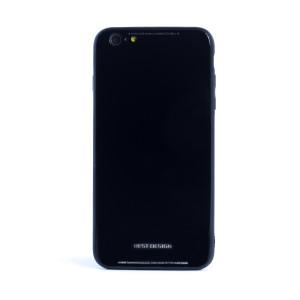 Husa spate sticla iPhone 6/6S Negru