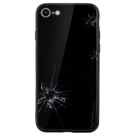 Husa spate sticla iPhone 7/8/SE 2 Broken Glass