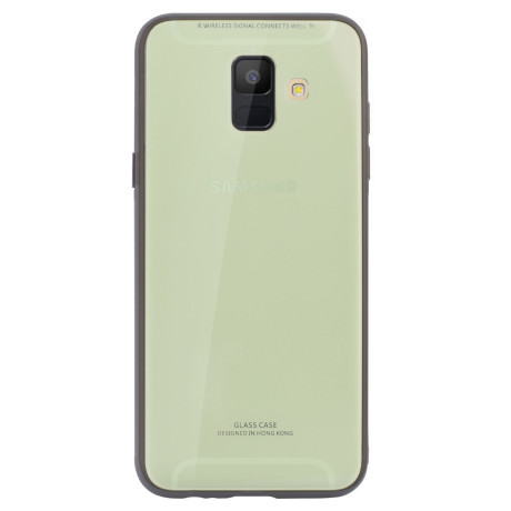 Husa spate sticla Samsung Galaxy A6 2018, Contakt Lime