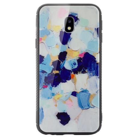 Husa spate sticla Samsung Galaxy J3 2017 Abstract Painting