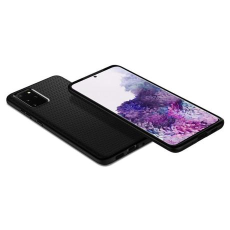 Husa Spigen pt. Samsung Galaxy S20  Liquid Air Ultra Matte Black