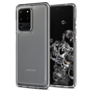 Husa Spigen Ultra Hybrid pt. Samsung Galaxy S20 Ultra Crystal Clear