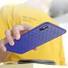 Husa TPU iPhone X/XS Woven Pattern Albastra Rock