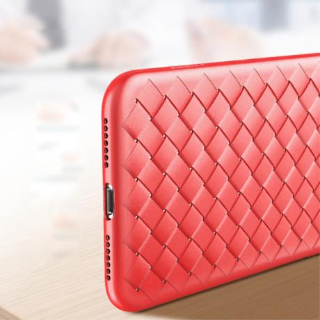 Husa TPU iPhone X/XS Woven Pattern Rosie Rock