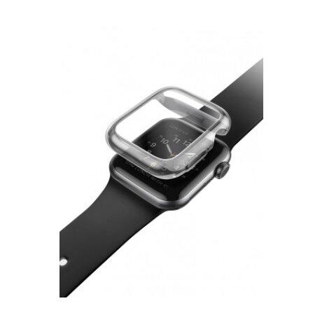 Husa TPU Uniq Garde UNIQ-40MM-GARSMK pentru Apple Watch 4/5 40mm Gri