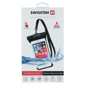 Husa Waterproof Swissten 6.5 inch Negru