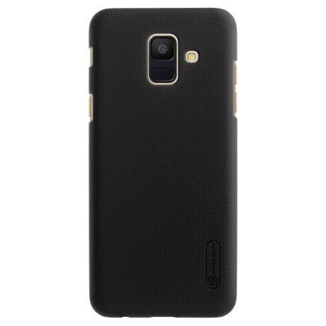 Husa+Folie Samsung Galaxy A6  2018 Negru Nillkin