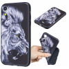 Huse iPhone XR 6.1'', Printing Embossed, Wolf