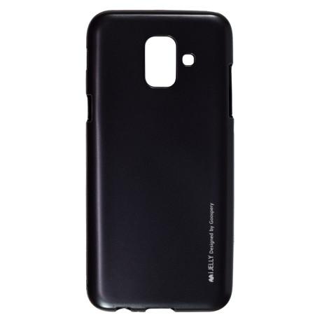 Huse Jelly Metal Samsung Galaxy A6 2018, Goospery Neagra