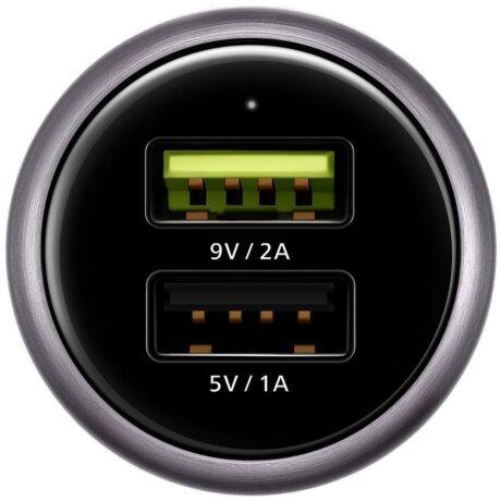 Incarcator Auto Huawei Dual Type C QC 3.0 Alb