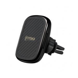 Incarcator Auto Pitaka MagEZ CM3001Q  Wireless QC 3.0 10W Magnetic Negru
