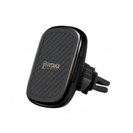 Incarcator Auto Pitaka MagEZ Wireless QC 3.0 10W Magnetic Negru