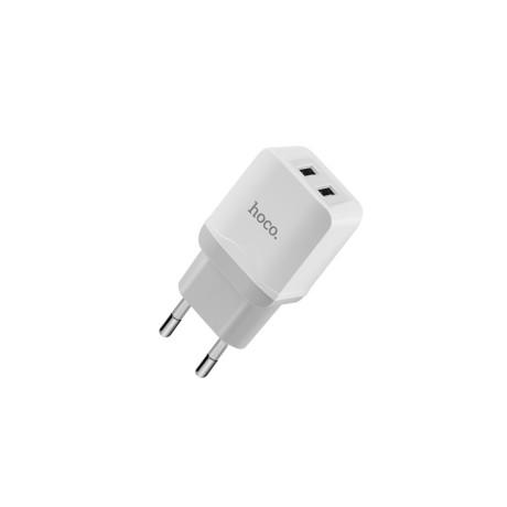 Incarcator retea Dual USB, Hoco C33A Alb