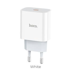 Incarcator Retea Hoco C76A 1xUsb QC3.0 3A Alb
