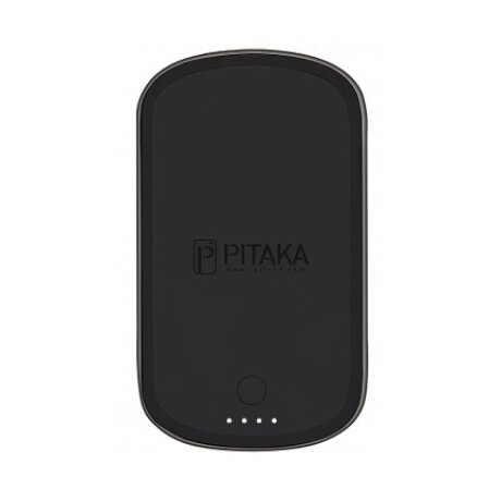 Incarcator Retea Pitaka Wireless MagEZ Juice MJ1002 PowerBank 2000mAh Negru