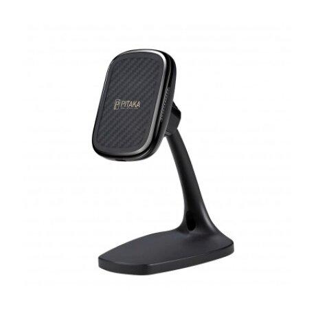 Incarcator Retea Pitaka Wireless MagMount Ebony Magnetic DT1001B QC 3.0 10W Negru