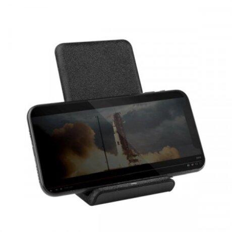 Incarcator Retea Uniq Vertex Foldable  Wireless 7.5/10W QC 3.0 Negru