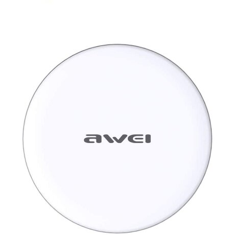 Incarcator Wireless Awei Ultra Thin  10W Alb