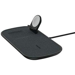 Incarcator Wireless Rapid 3in1 Mophie pentru iPhone, AppleWatch, Airpods, Negru