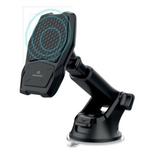 Kit Suport Auto+Incarcator Wireless Swissten S-GRIP WM1-HK2 10W Negru