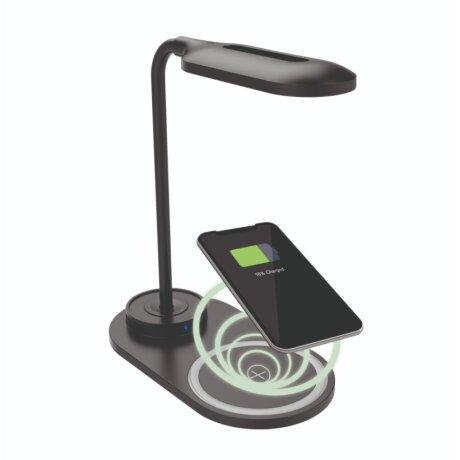 Lampa Ksix cu Incarcare Rapida Wireless 7.5W-10W