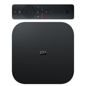 Media player Xiaomi MI BOX S 4K Control Voce Negru