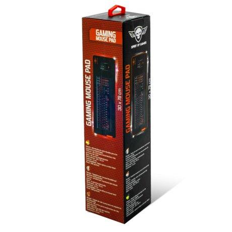 Mouse Pad Gaming Spirit of Gamer 30x78cm Rosu