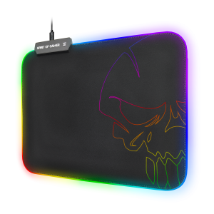 Mouse Pad Gaming Spirit of Gamer 35x25.5x0.3cm Led Multicolor